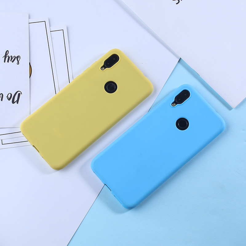 Image 4 - Solid Candy Color Case For Redmi Note 7 Cases For Xiaomi Mi 9 8 Lite Redmi Note 5A Prime Note 5 Pro 4X Luxury Cover For Redmi 4A-in Fitted Cases from Cellphones & Telecommunications
