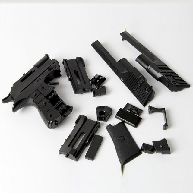 Orbeez Gun Building Blocks Gun Model Assembling Pistol Paintball Shooting Nerf