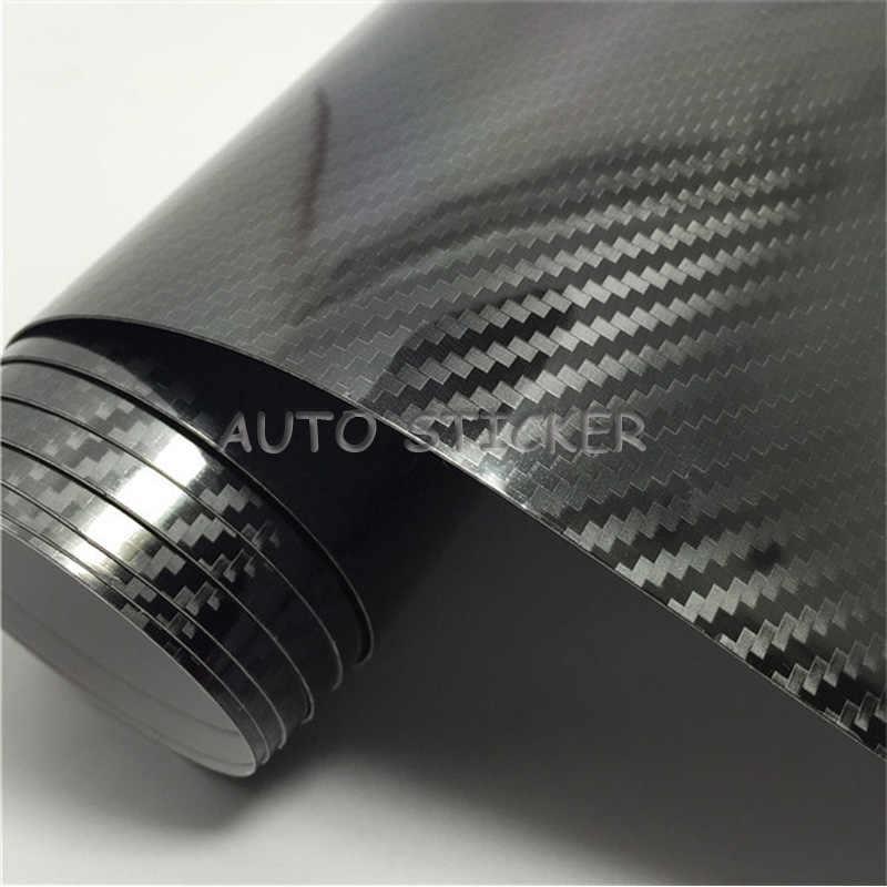 3D Carbon Foil Car Foil Carbon Gloss 4d Matt Black Bubble-Free 5d 3,5 €// M²