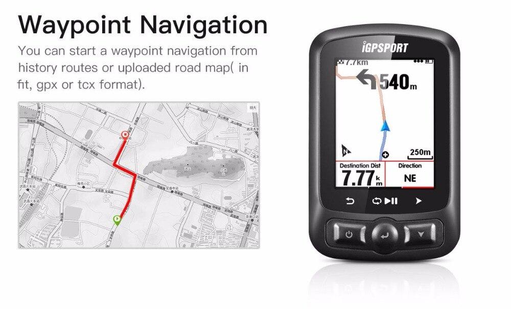 IGPSPORT ANT + GPS IGS618 vélo Bluetooth sans fil chronomètre compteur de vitesse étanche IPX7 vélo compteur de vitesse ordinateur