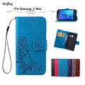 For Samsung Galaxy J1 Mini Leather Case J105 J105H Flip Wallet For Samsung J1 Mini Phone Case Silicone Cover With Card Holder #<