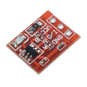 Image 3 - 10PCS TTP223 Touch Key Switch Module Touching Button Self Locking/No Locking Capacitive Switches Single Channel Reconstruction