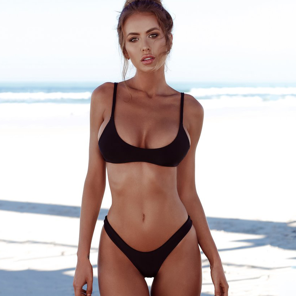 HTB1OPXCeQfb uJkSmFPq6ArCFXaE COSPOT Bikini 2019 Sexy Women Swimwear Brazilian Bikini Push Up Swimsuit Solid Beachwear Bathing Suit Thong Biquini Bikini Set