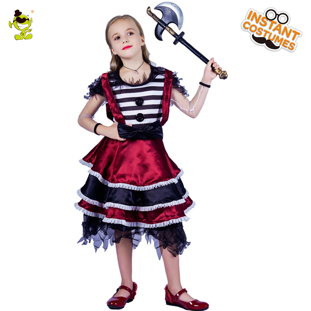 Little Girls Butcher Costume Christmas Dress Princess Costume for Kids Clothes Children Fancy Dresses  sc 1 st  AliExpress.com & Little Girls Butcher Costume Christmas Dress Princess Costume for ...
