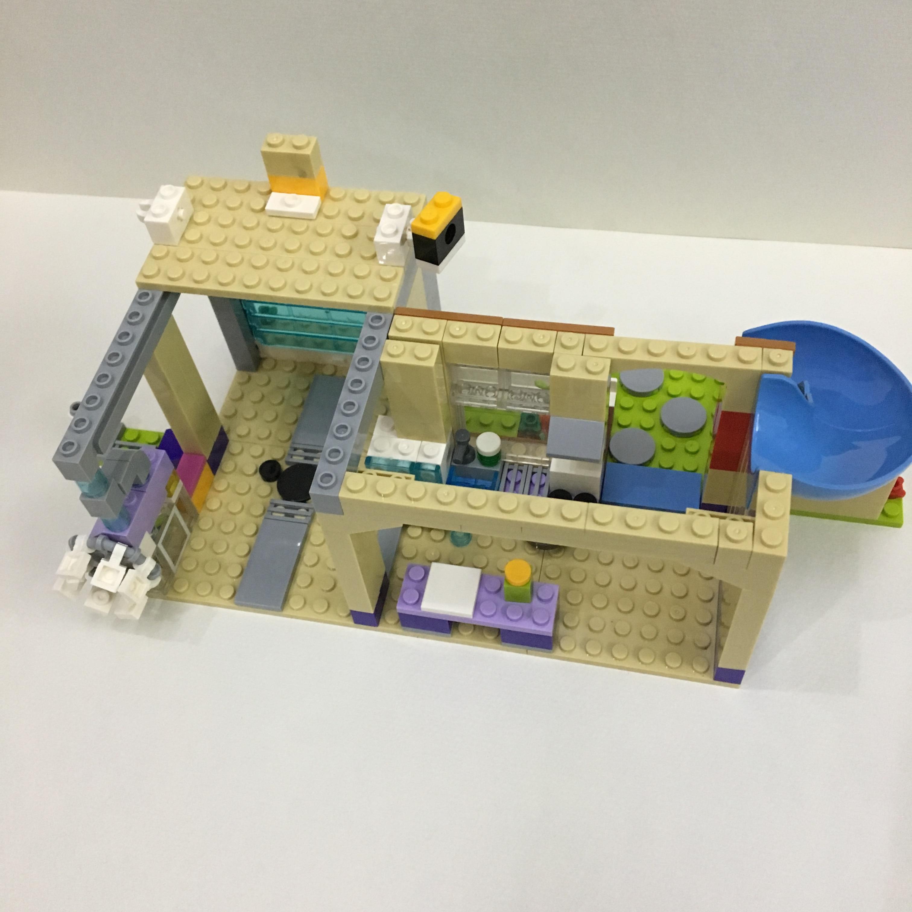 Friends Toys For Children Girls Series Friendship House