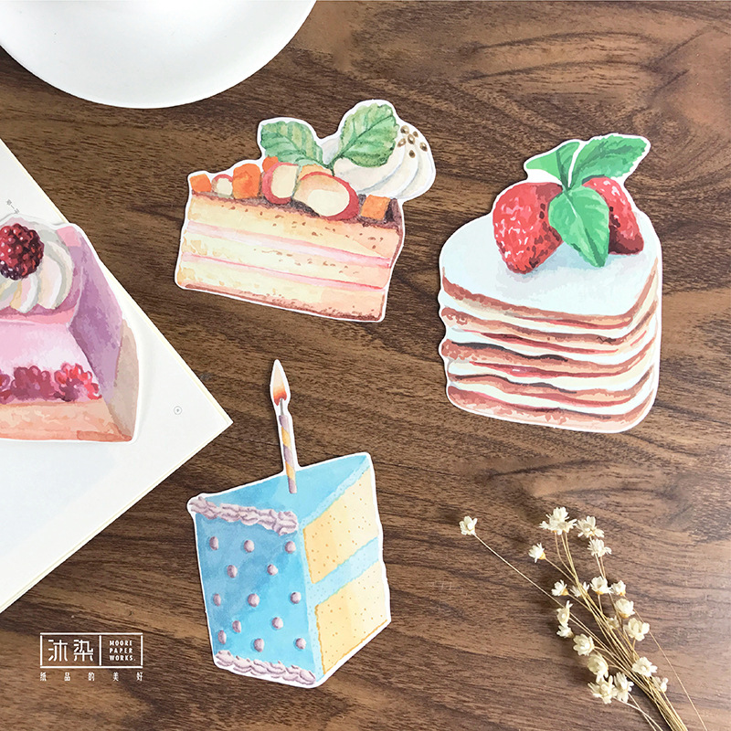 Happy Birthday Cake 30pcs/pack Japanese Cute Postcard Sweet Christmas Post Card Letter Pads Kawaii Gifts