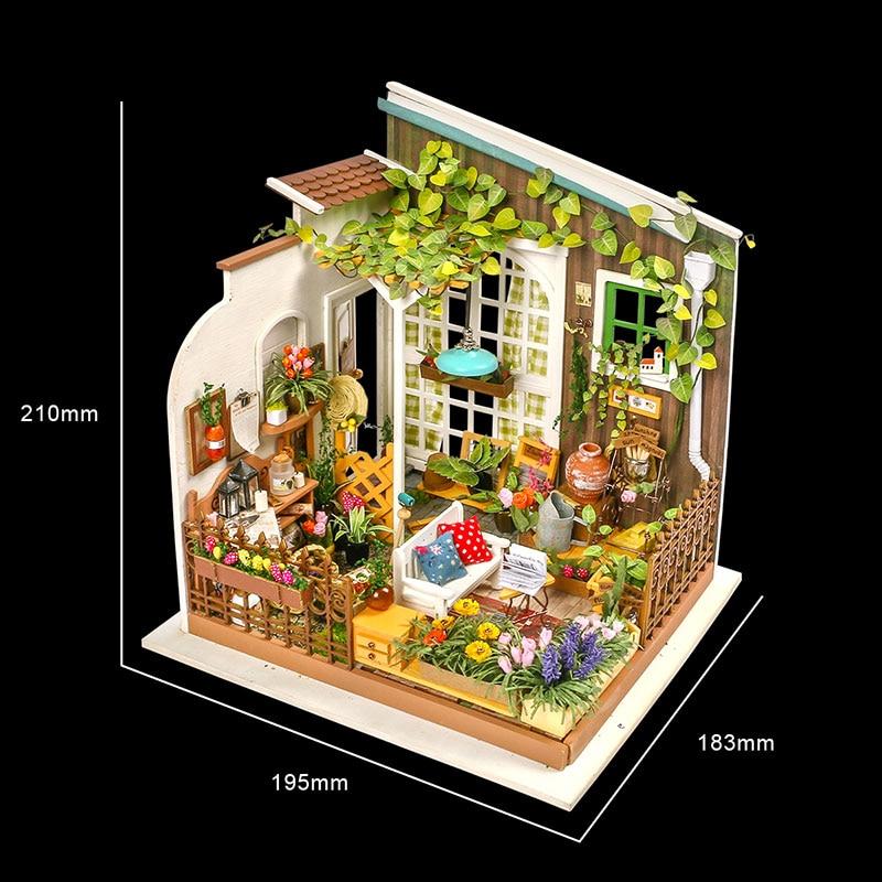Rolife DIY Miniature Dollhouse - Miller's Garden DG108