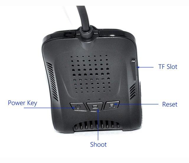 DVR Sony IMX322 Sensor Dash cam  4