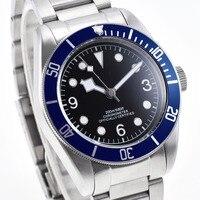 fashion luminous Mechanical watch Luxury Top Brand Mens Automatic Watches Diver sport swim Watch clock Male Dress Wristwatch