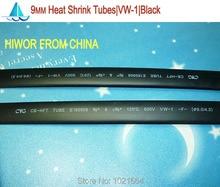 20meters/lot 9MM Heat Shrink Tubes Shrinkable Tubing Insulation Sleeving