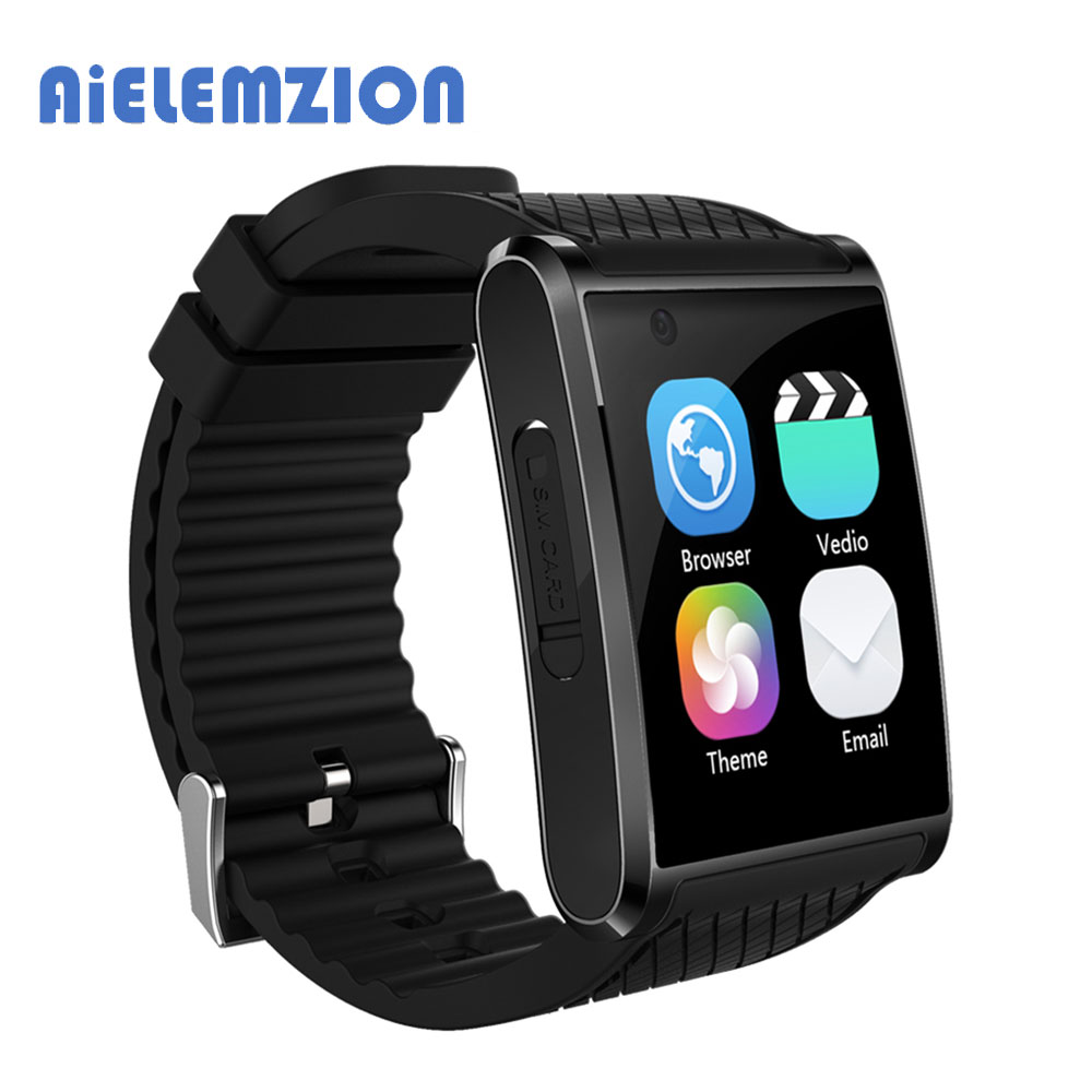 AiELEMZION Android 5.1 Smartwatch X11 MTK6580 Smart Watch With 3G Bluetooth Pedometer 2MP Camera WIFI GPS for Xiaomi Huawei android 5 1 smartwatch x11 smart watch mtk6580 with pedometer camera 5 0m 3g wifi gps wifi positioning sos card movement watch