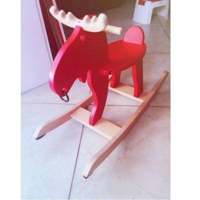Детская лошадка-качалка, Рождество ребенок олень детское кресло-качалка rocking horse подарок на день рождения