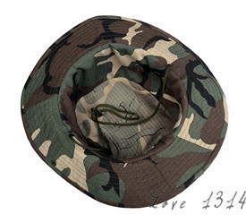 14989dc29f4 Military Camouflage Mens Bucket Hats Outdoor Fishing Hiking Boonie Snap Brim  Woodland Sun Hat Cap Woodland Camo New b7 SV003003-in Bucket Hats from  Apparel ...