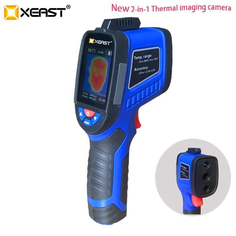 Buy one Get one XEAST Precision Thermal Imaging 32 32 Handheld Infrared Camera Thermometer XE 27