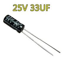 25 В 33 мкФ электролитический конденсатор 5*7 25V33UF 100 шт./лот