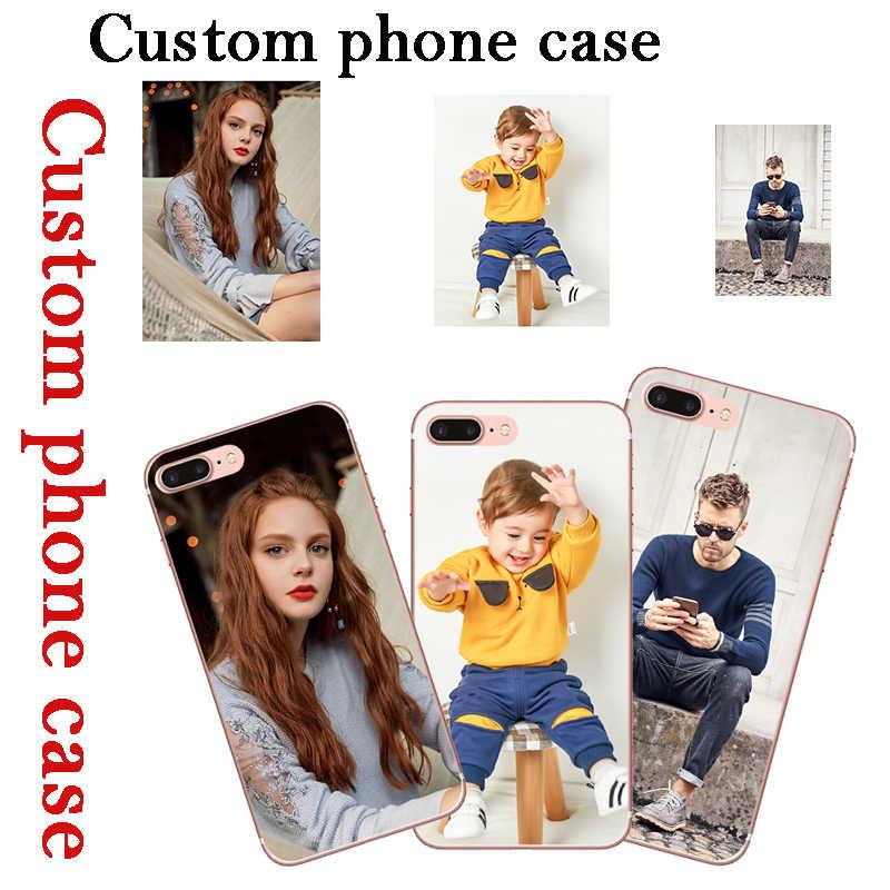 DIY Custom Phone Case untuk Alcatel A3 Plus A3 + 5011A Foto Penutup Dicetak Nama Kustom Logo untuk Alcatel A3Plus a3 + Ponsel Kasus