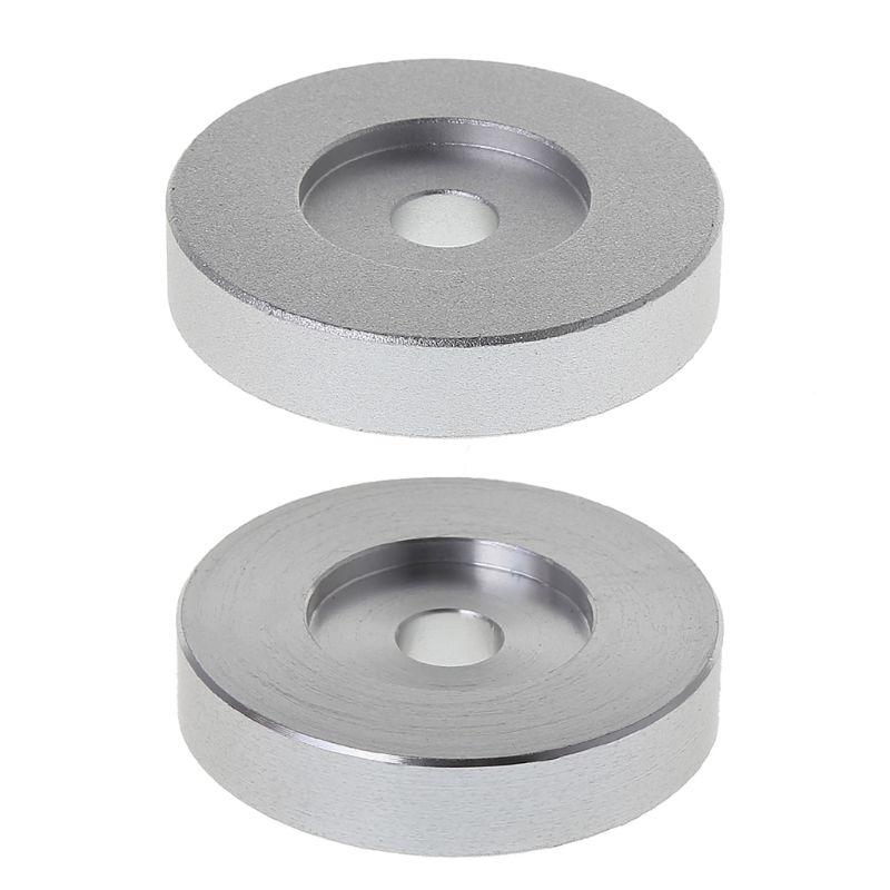 Stetig 1 Pc 45 Rpm Aluminium Silber Rekord Plattenspieler Adapter Für 7 vinyl Technik Sl1200 Serie Aromatischer Charakter Und Angenehmer Geschmack Plattenspieler