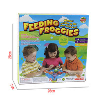 Fun Novelty Toy Gift Boy Girl Hungry Hungry Frog Creative Desktop Toys Interactive Anti-stress Fun Board Game For Kids Adult