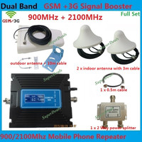 Dual Band LCD Display GSM 3G Signal Booster GSM Repeater 3G Signal Repeater 900 And
