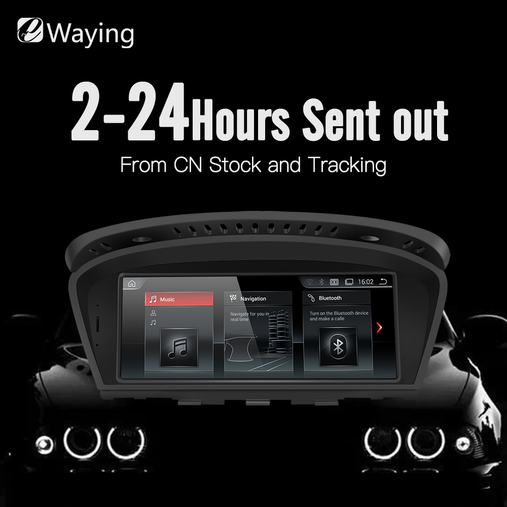 Ewaying 8,8 Android 7,1 2G RAM 32G ROM для CIC автомобилей мультимедиа для BMW Series5 3 E90 E91 E92 E60 E61 E62 gps-навигации
