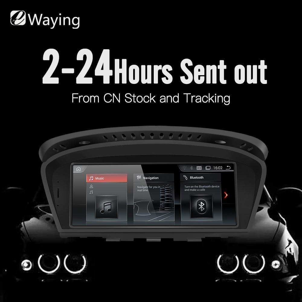 Ewaying 8.8 Android 7.1 2g RAM 32g ROM pour CIC Voiture Multimédia pour BMW Series5 3 E90 e91 E92 E60 E61 E62 gps navigation