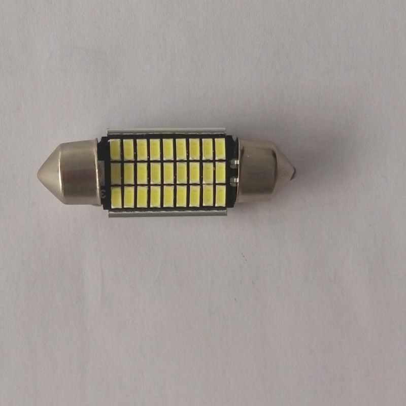 Голубой почвы BAY 6 шт. Высокое качество 36 мм супер SMD светодиодный гирлянда лампа C5W белый Цвет автомобиля купола свет лампы