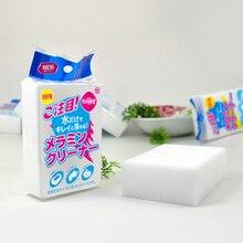 50 pcs/lot melamine sponge Eraser Melamine Cleaner for Kitchen Office Bathroom Cleaning Nano sponge 10x7x3cm Magic Sponge