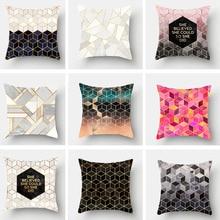1PC Bohemian Boho Cover Decorative Pillowcase Floral Cushion Pillow Case 45*45cm Neck Travel