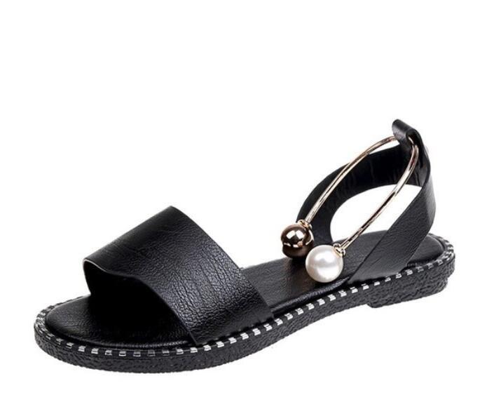 Thepass Womens Sandals Flat Retro Flip Flops Shoes Ladies Beach Roman Slippers