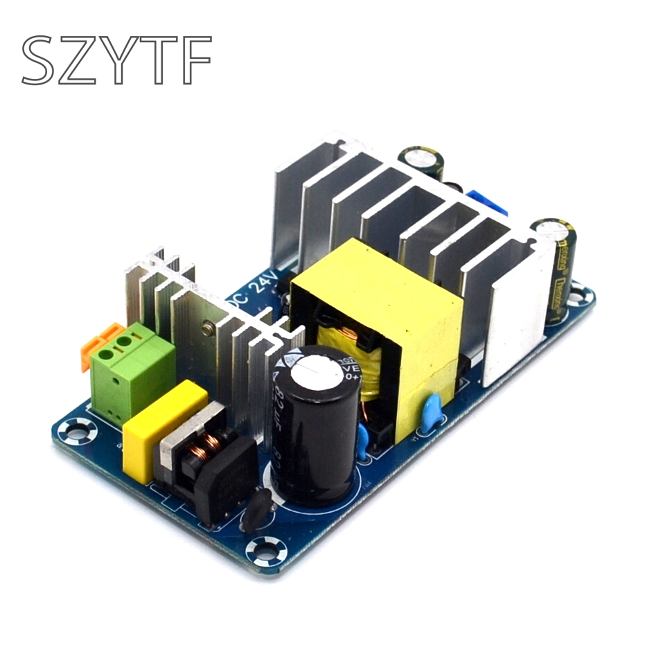 100 W 4A A 6A DC 24 V Switching Power Supply Board Stabile Ad Alta Potenza AC DC Modulo di Potenza Trasformatore
