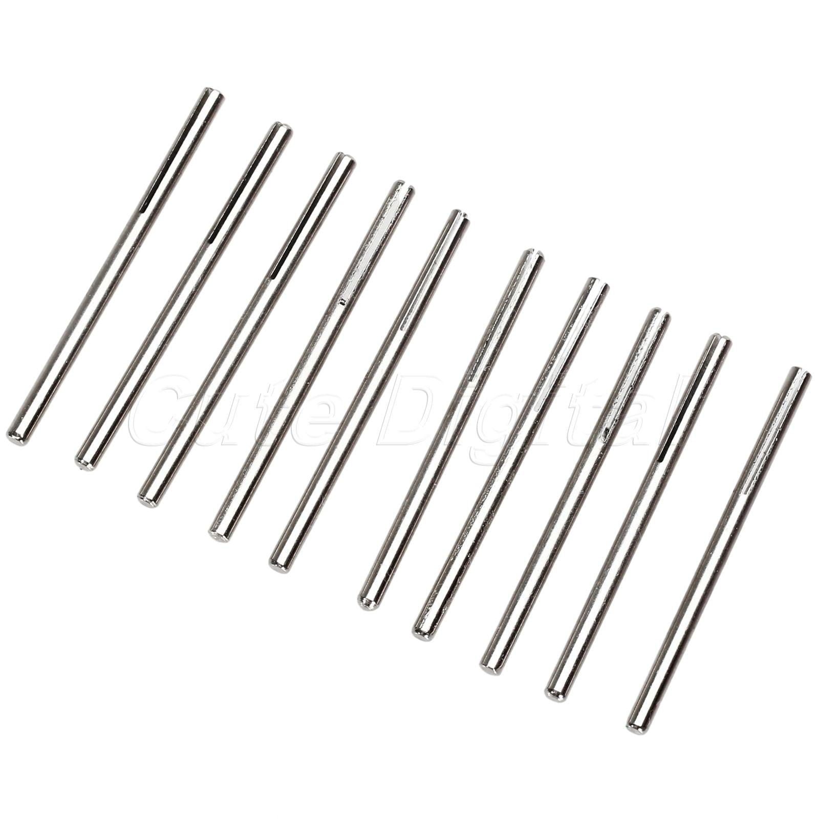 """10pcs 1//8/"""" Shank Sandpaper Abrasive Split Mandrel Shank Clip Type Rotary Tool UK"""