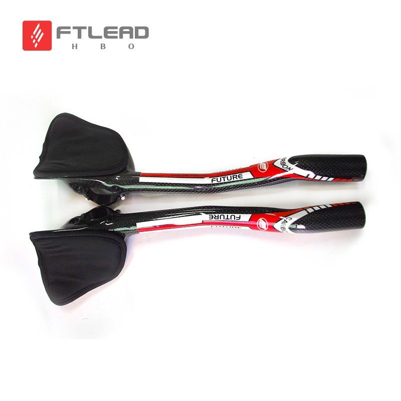 New Future Red road bike  trial triathlon  full carbon fibre bicycle extended TT style rest handlebars lightest Free ship pre trial detention