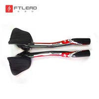 New Future Red Road Bike Time Trial Triathlon Full Carbon Fibre Bicycle Extended TT Style Rest