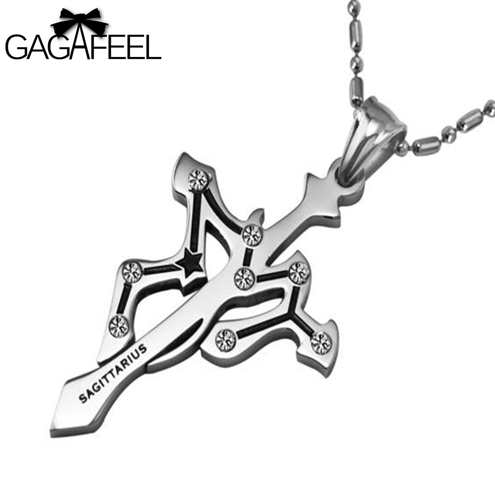 Zodiac Constellation Dog Tag Stainless Steel Men S Women S: Online Buy Wholesale Sagittarius Pendant Necklace From