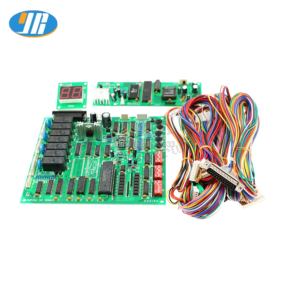 Toy Claw Crane Machine Gren Game Board TAIWANG Guangxing Motherboard With Wire Harness Display B
