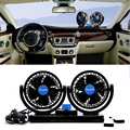 8W/15W Portable 24V Car Vehicle Truck Cooling Air Fan 360 Degree All-Round Adjustable Cooler DC 24V Cooling System Fans Kits