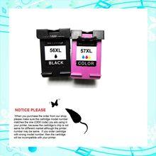 YOTAT для HP 56 HP 57 сменный чернильный картридж для HP Deskjet 450/5150/5550/5552/5650/5652 серии/5850/9650/9670/PSC 9680