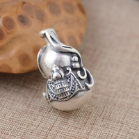 S990 argento fine giacinto monili all'ingrosso accessori processo opaco modelli femminili hanno entrambi fama e ricchezza