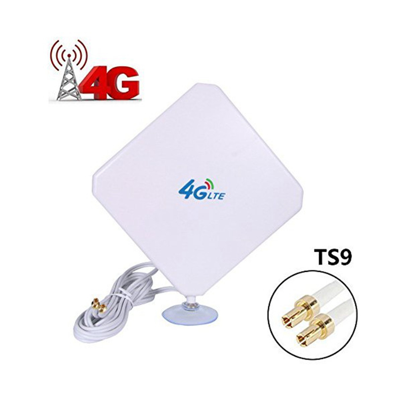 Universal Mobile Signal Booster Amplifier Wifi Repeater 4G LTE Antenna 35dBi High Gain Network <font><b>Expander</b></font> Routers TS9 Connector