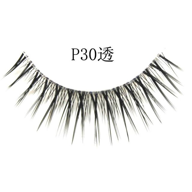 Free shipping,32box/lot [mixed style] high quality factory direct marketing,hand made (10 pairs/box)quality eyelashes (P30A)