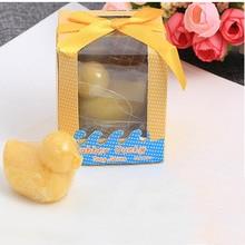 20 шт./лот свадебный подарок ароматизированное Мыло Baby Shower Savon праздничные сувениры
