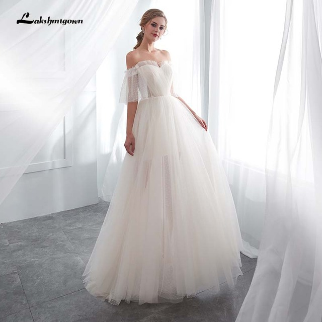 lakshmigown Beach Wedding Dresses boho Wedding Dresses Plus Size ...