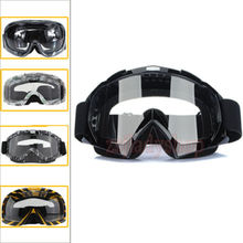 Motocross Scooter Dirt Bike Quad ATV UV Protection Snowboard Off-road SKI Racing Helmet Goggles Glasse Kid Adult