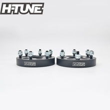 H-TUNE 4PCS Forged Aluminum Black 6x114.3 to 6x139.7 66.1CB 30mm Wheel Spacers For Frontier Pathfinder Xterra Navara цена