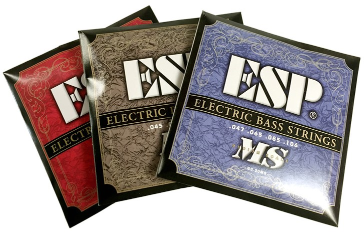ESP BS-20HB /BS-30HB /BS-20MS Bass Guitar Strings bluesonic bs f115