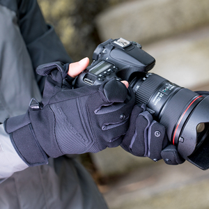 Image 4 - PGYTECH Gloves photography gloves Windproof outdoor mountaineering Ski Riding Flip Waterproof Touch Screen Multifunction Gloves