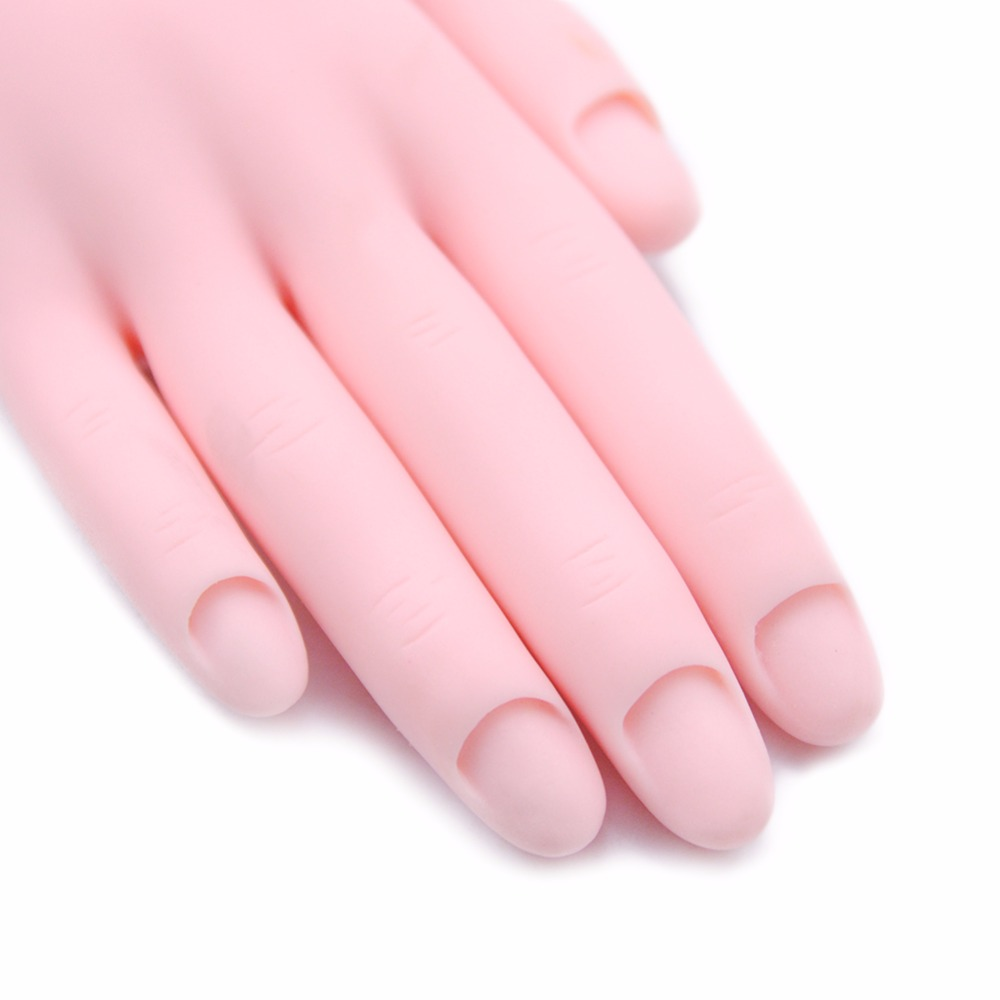1pcs Hand Professional Nail Trainer Tool Model Painting Practice ...