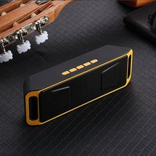 Portable Bluetooth 5.1 Speaker Stereo Subwoofer columns Speakers USB mp3 TF FM Radio Built-in Mic Sound Changer SC208 radio bar цена и фото