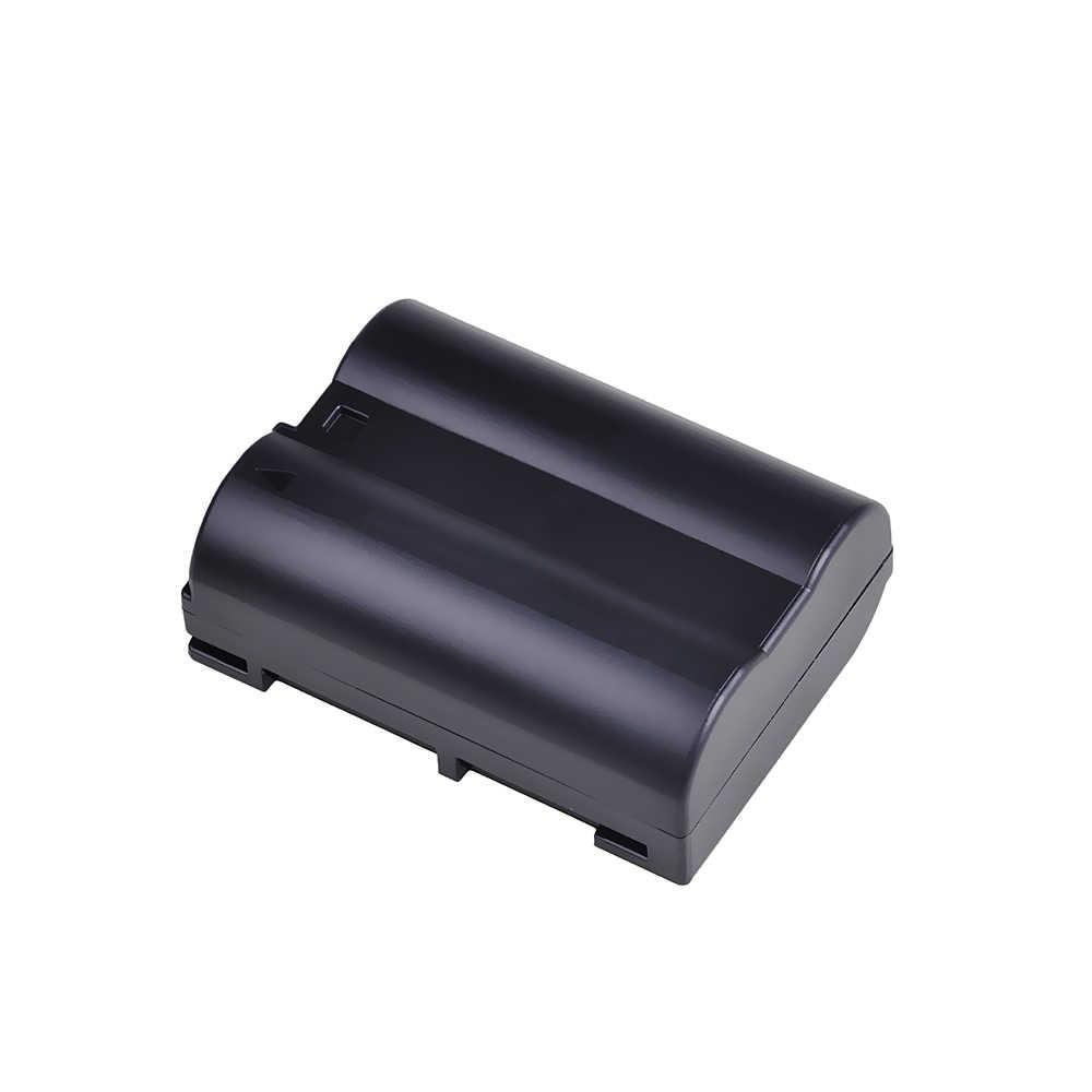 1Pack EN-EL15 EN EL15 ENEL15 Camera Battery +LCD USB Charger For Nikon D7000 D7100 D800 D800E D600 D610 D810 D7200 Z6, Z7 Camera