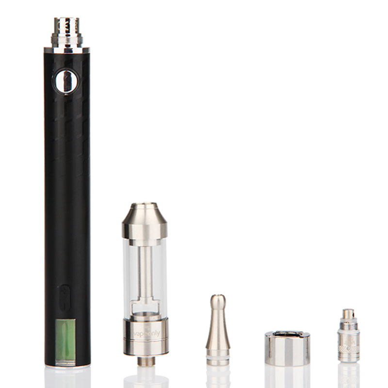 VapeOnly vPulse Dual output Kit with 900mah in built Battery and 2ml vAir D16 Clear Cartomizer